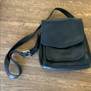 FOSSIL LEATHER BAG PURSE SATCHEL